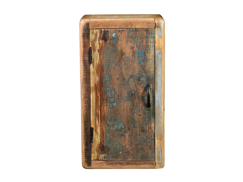 Woodkings Bad Hängeschrank Kalkutta recyceltes Holz bunt rustikal ...