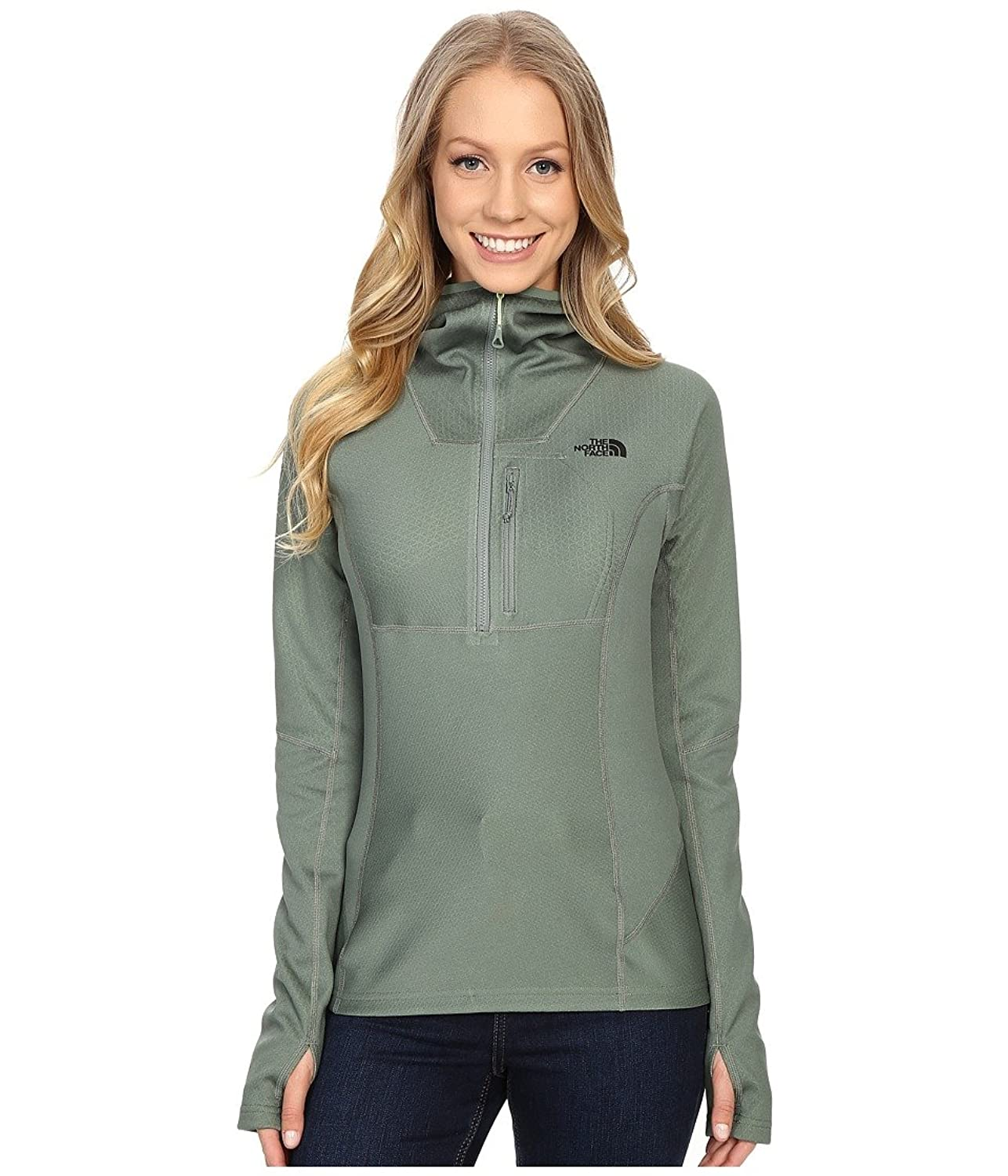 Damen Fleecepullover The North Face Fuseform Dolomiti + Zip Fleece Pullover