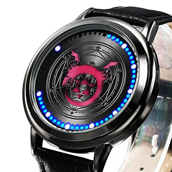 Amazon.com: Wildforlife Anime Fullmetal Alchemist: Brotherhood Ouroboros Collectors Edition Touch LED Watch: Watches