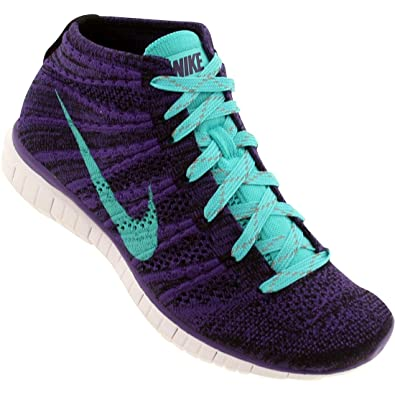 check out 099bb d85aa Nike Violet Free Flyknit Chukka Purple Green (639699-500) 41 -