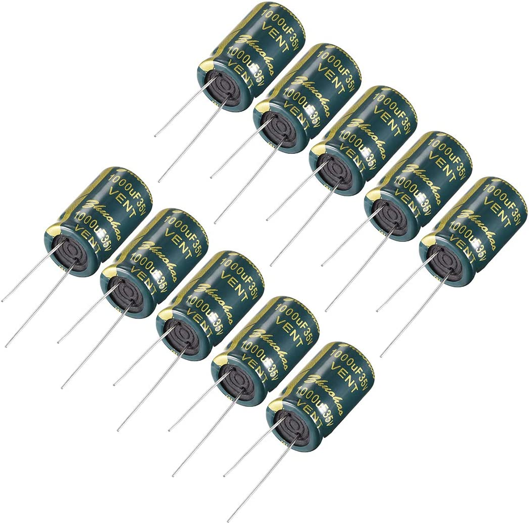 10PCS 47UF 100V 105°C Radial Electrolytic Capacitor 10X16mm