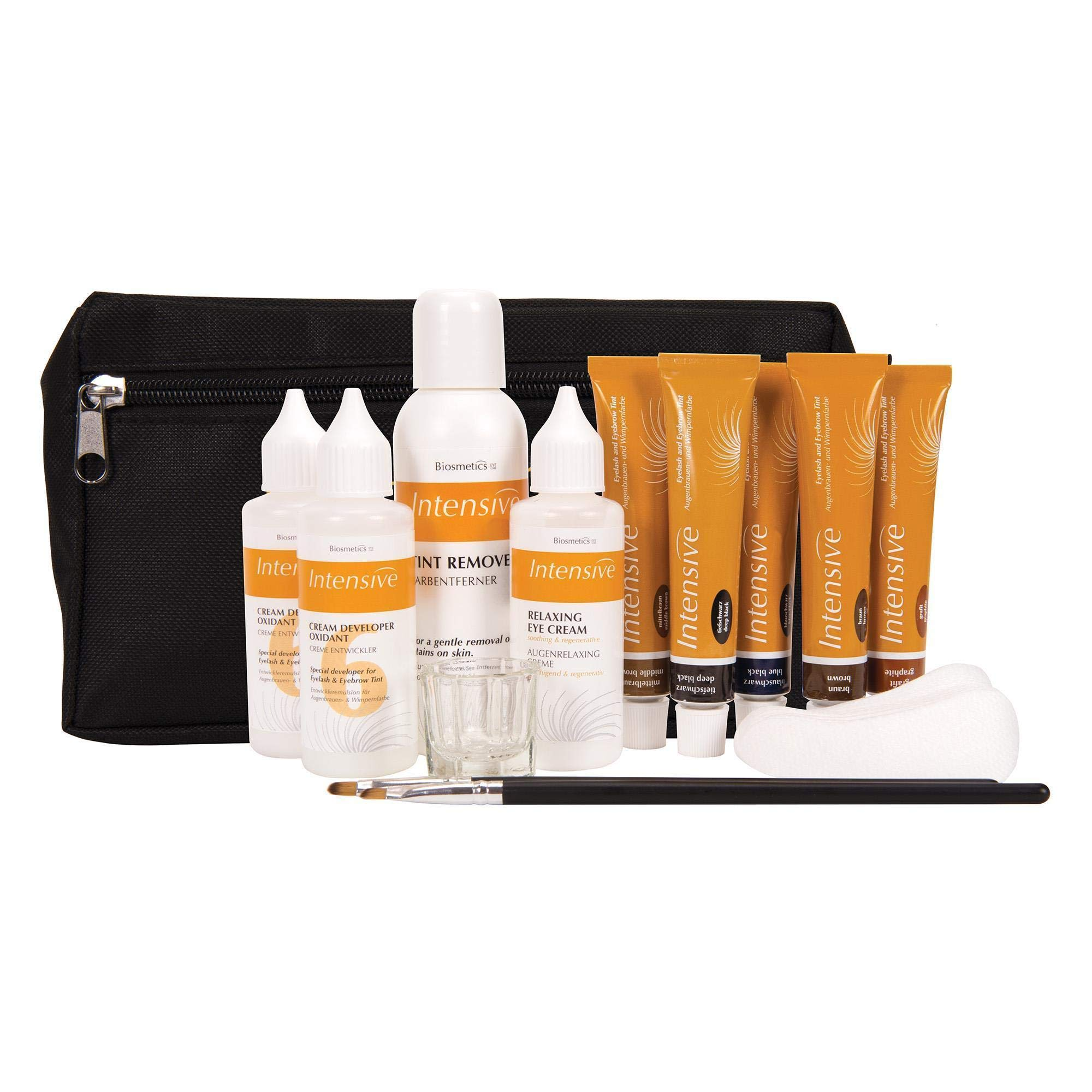 Intensive Lash & Brow Tinting Professional Kit | Trusted Professional Formula | Provides 150 Services by Intensive
