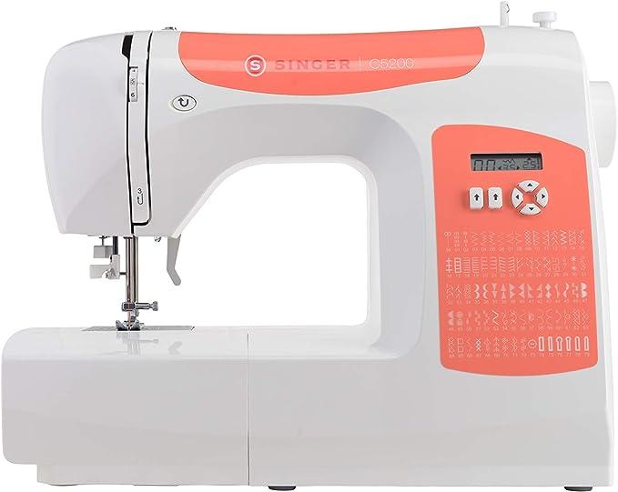 Singer C5205 Rojo máquina de Coser: Amazon.es: Electrónica