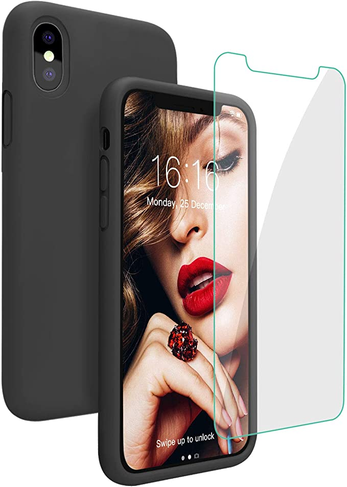 cover silicone iphone xs max