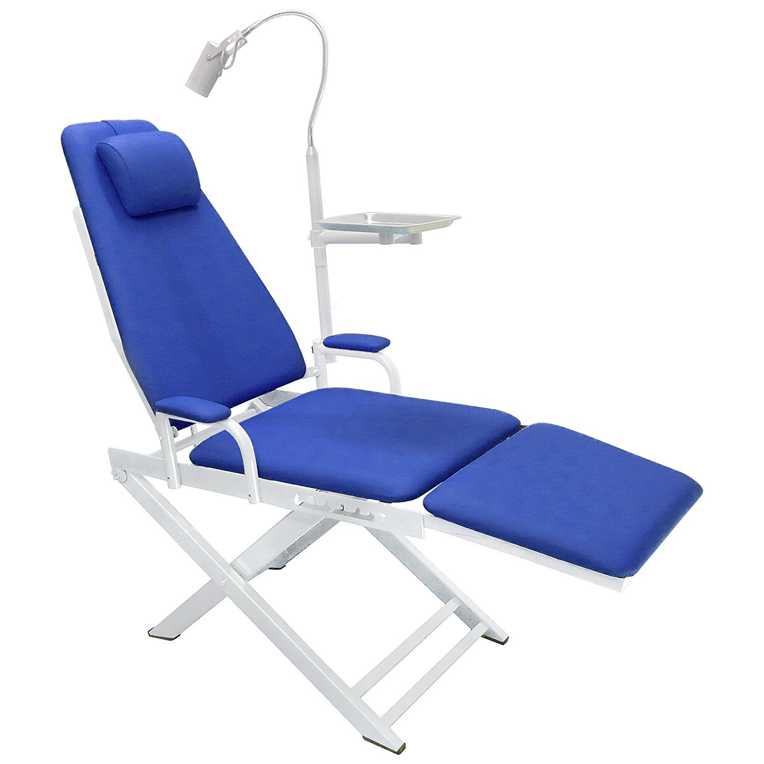 East Dental Portable Chair Cold Light Cuspidor Tray Dentistry Equipment Mobile Unit