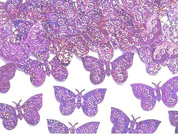 Amazon De Metallic Schmetterlinge Streudeko Tischdeko Geburtstag