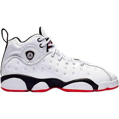 f7b0789712b4f7 Nike Jordan Jumpman Team II (GS) Boys Basketball-Shoes 820273-106 4.