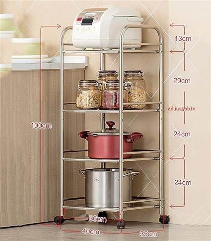 Mensola da cucina Forno a microonde Scaffalature per cucina a ...