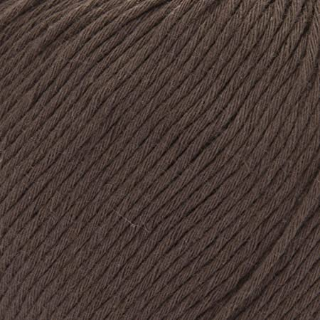 ggh Cottina - 013 - Marrón oscuro - Algodón para tejer y hacer ganchillo: Amazon.es: Hogar