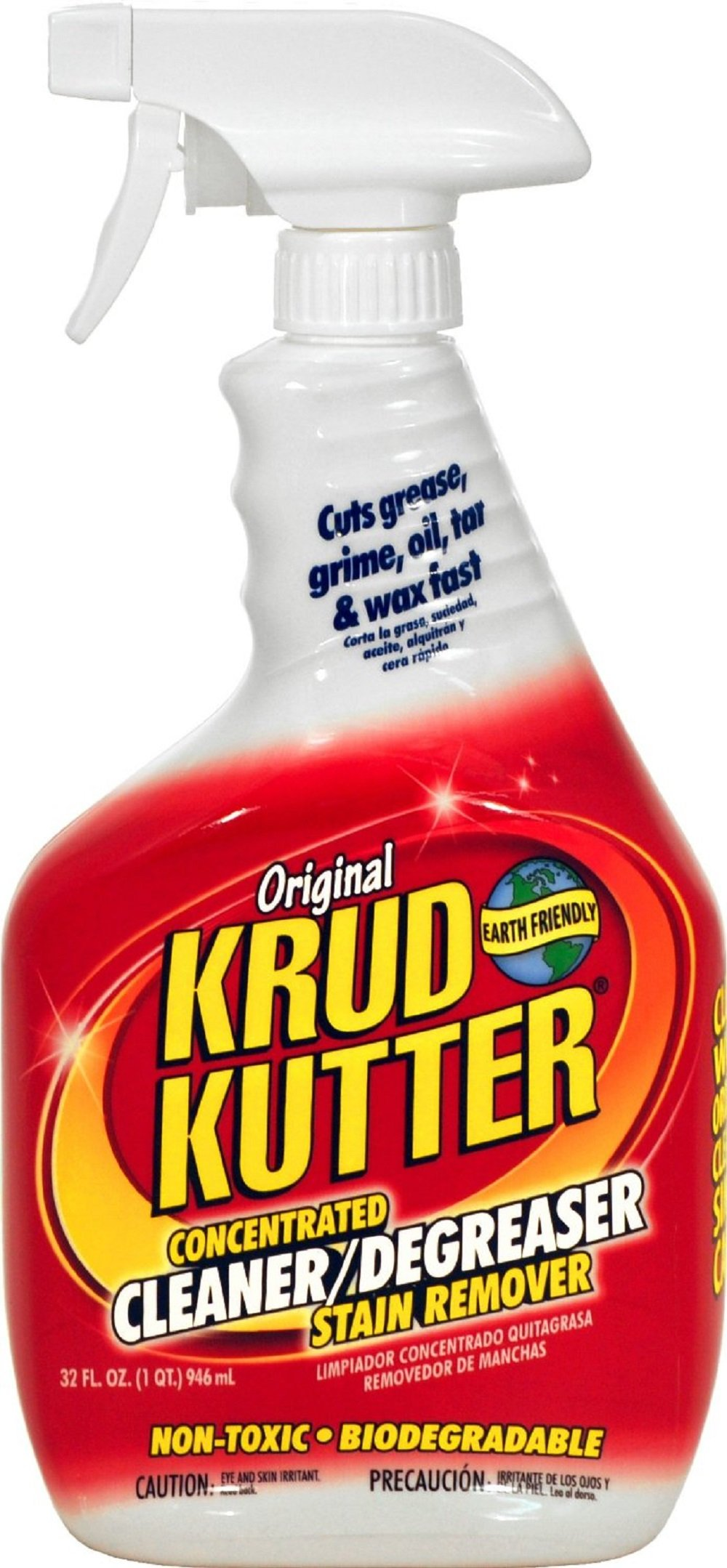 KRUD KUTTER KK32 Original Concentrated Cleaner/Degreaser, 32-Ounce by Krud Kutter
