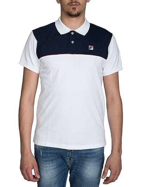 Fila 392019 Polo Uomo Bianco XL: Amazon.it: Abbigliamento