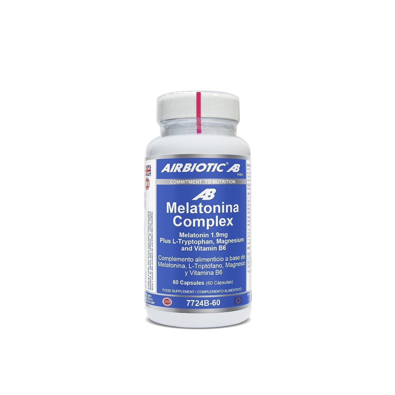Airbiotic AB - Melatonina Complex - 60 cápsulas: Amazon.es: Salud y cuidado personal