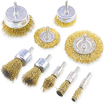 Toothbrush Copper Wire Brass Paint Remover Derusting Dust Polishing 12 Sets