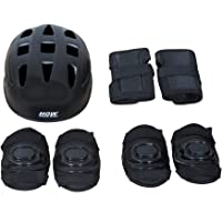 HOW (HOUSE OF WISHES) with Device Safety Skating Protection Set (Set of 7 - Helmet+Knee Guard+ Elbow Guard + Wrist Guard) for All Age Groups