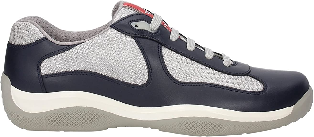 Prada Men's Shoes Leather Trainers Sneakers America s Cup