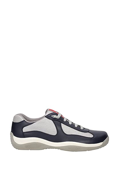 fcae1c08f134a Prada Leather America s Cup Mesh Navy Trainers  Amazon.co.uk  Shoes   Bags