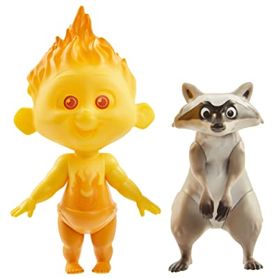 Raccoon & Jack-Jack Figures: Toys & Games