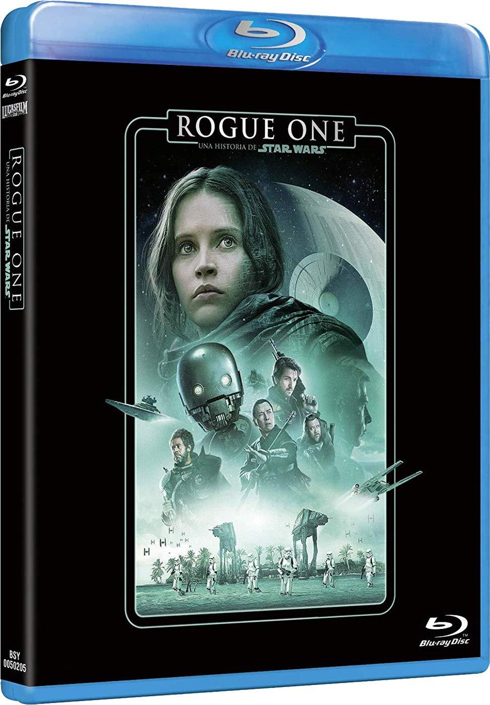 Rogue One: Una historia de Star Wars Edición remasterizada 2 discos película + extras Blu-ray: Amazon.es: Felicity Jones, Diego Luna, Alan Tudyk, Gareth Edwards, Felicity Jones, Diego Luna, Kathleen Kennedy, Allison Shearmur,