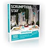 Buyagift One Night Scrumptious Stay Experience Gift Box - 300 overnight stays with a two or three course dinner and breakfast for two people