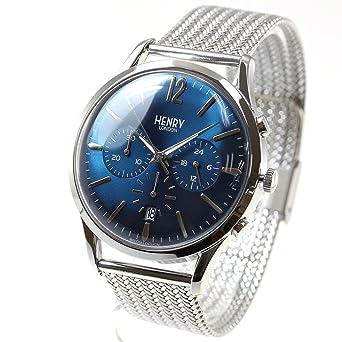 Henry London reloj Hombre Mujer Knightsbridge HL41-CM-0037: Amazon.es: Relojes