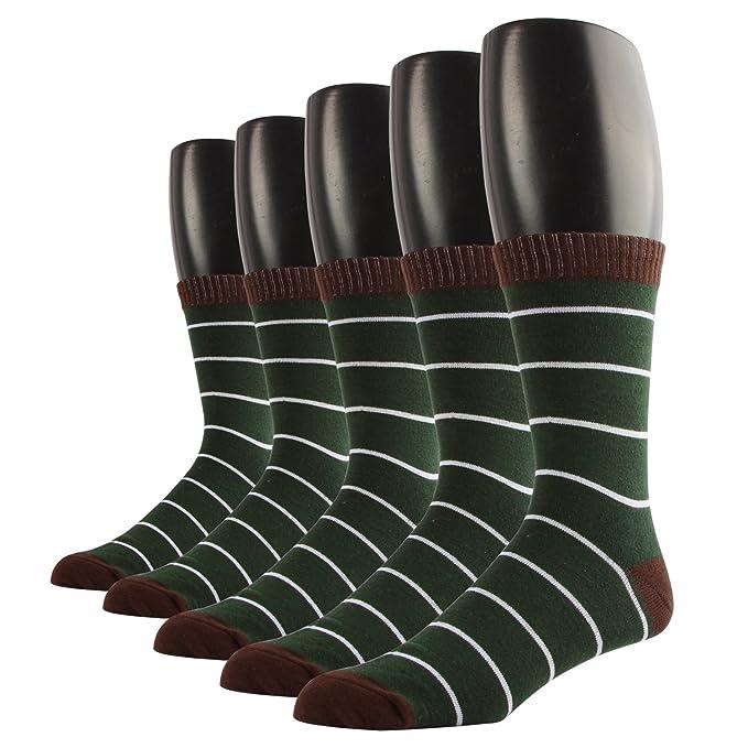 RioRiva Calcetines de los hombres ricos en algodón, calcetines calcetines ocio de lujo novedad divertida