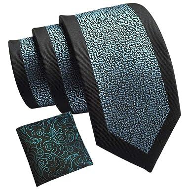 amropi Hombre Vestir Cachemir Corbatas Necktie y Floral Cuadrado ...
