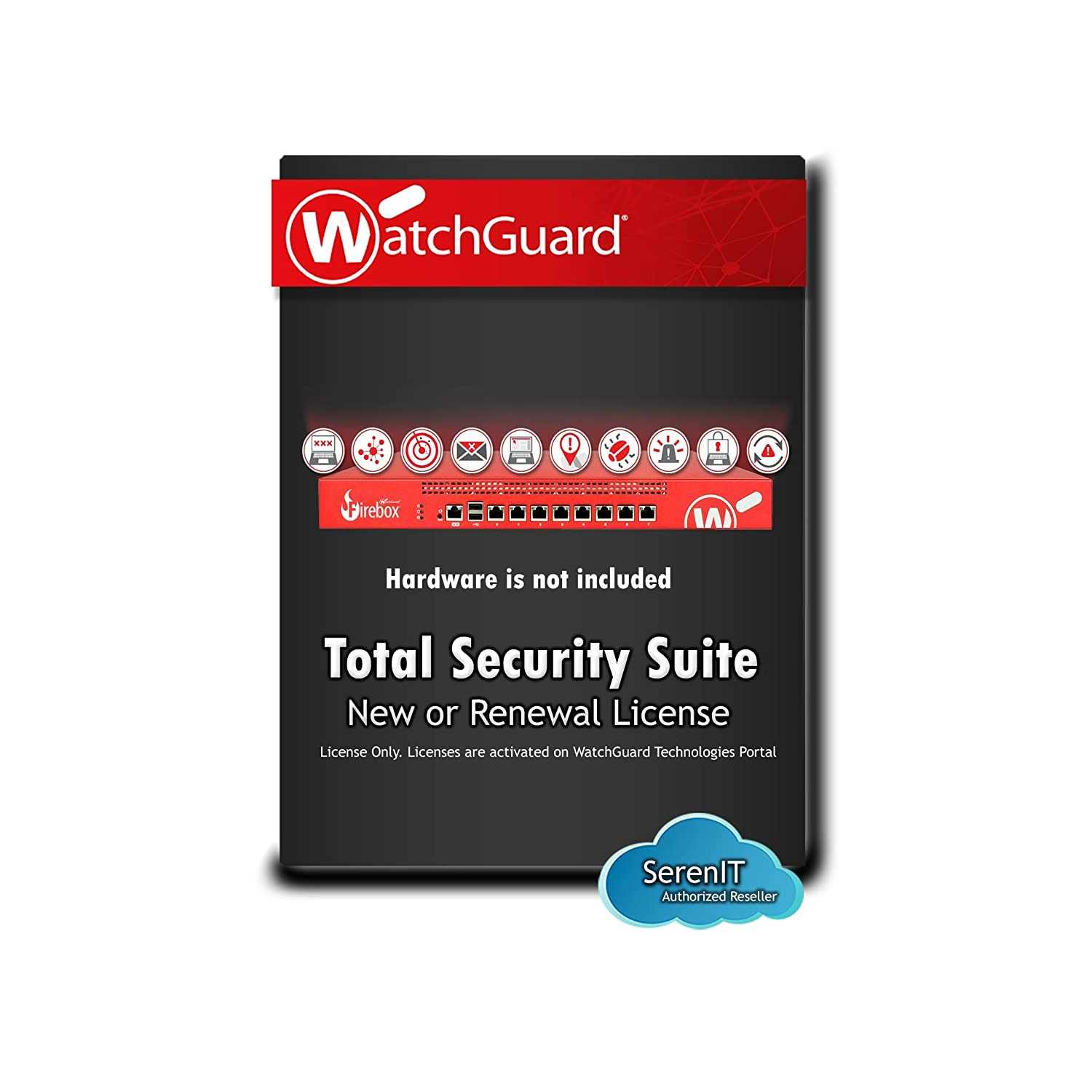 Watchguard 2yr renewal firebox x50 wg017184