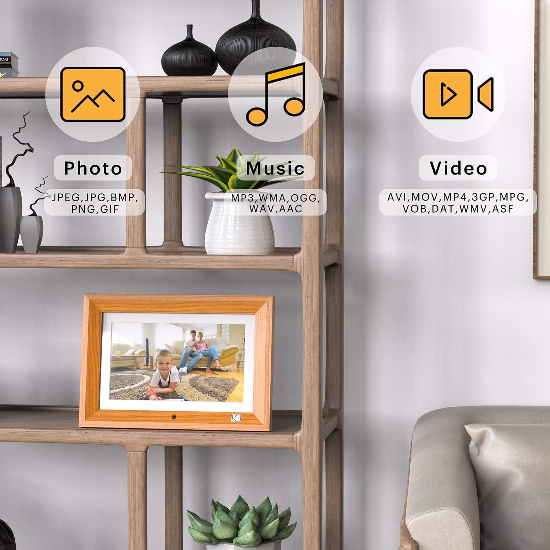 KODAK 10-Inch Widescreen Digital Photo Frame Digital Picture Frame with 1280x800 HD