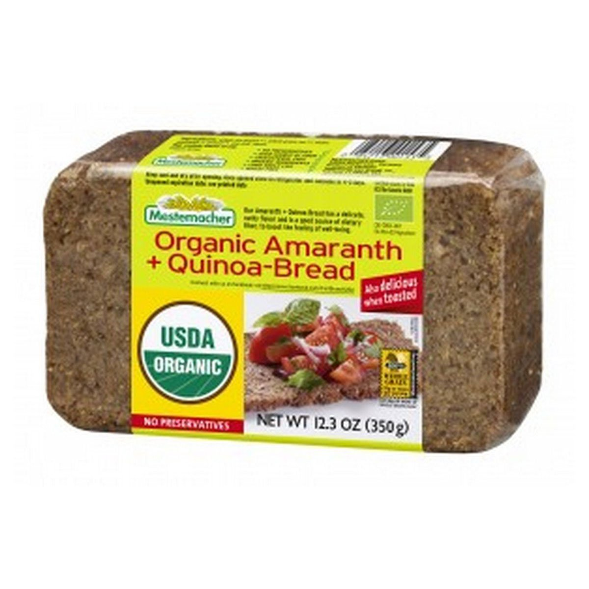 BREAD, OG2, AMARANTH QUINOA, Pack of 9