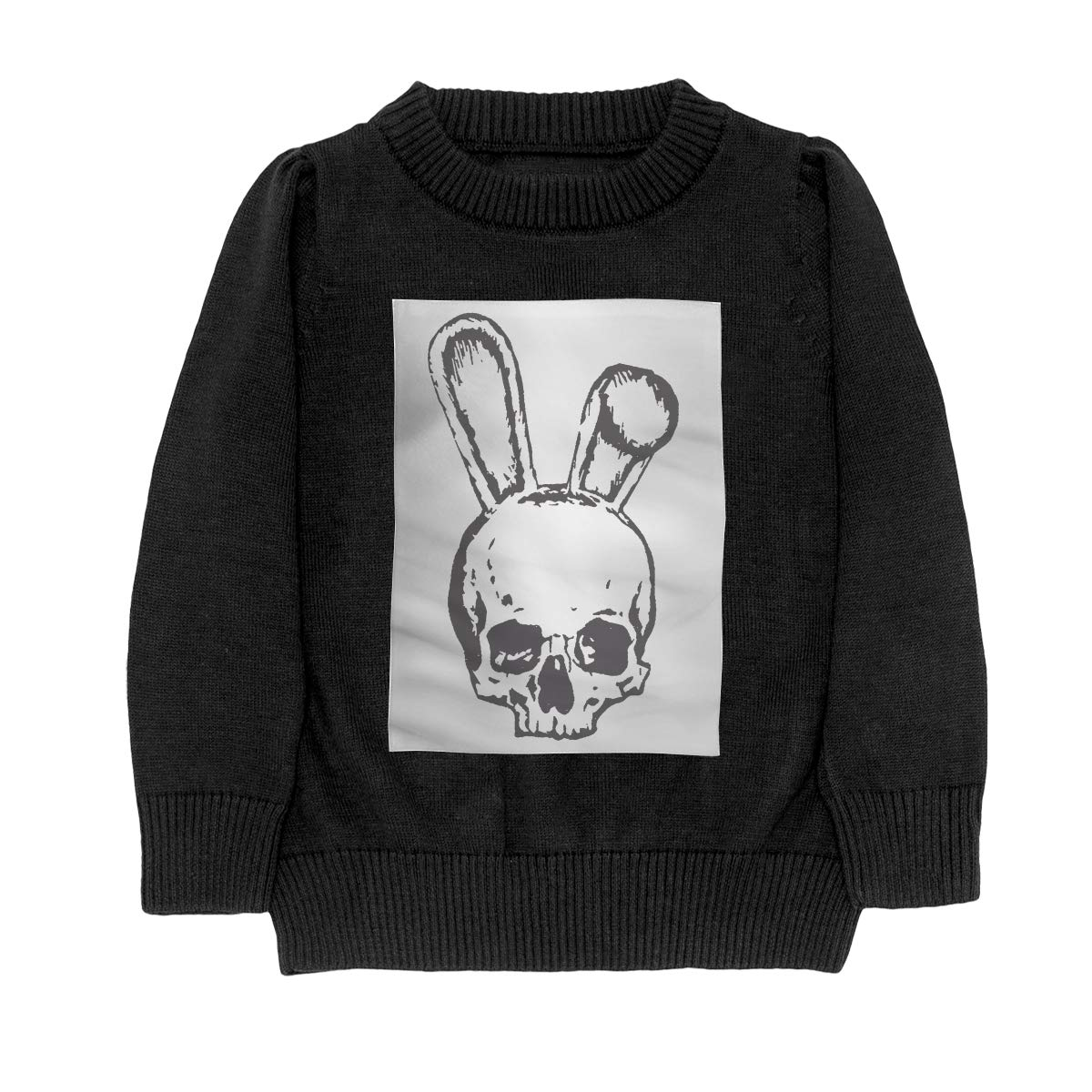 WWTBBJ-B Skull Bunny Ears Skull Pirate Casual Adolescent Boys /& Girls Unisex Sweater Keep Warm