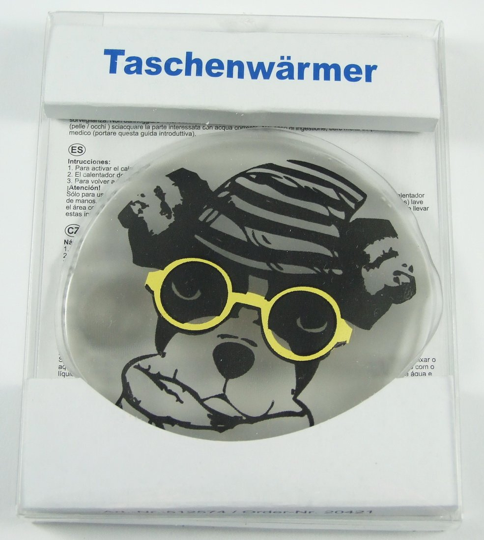 1 St/ück MT 512603 Taschenw/ärmer Duke Hugster Rottweiler 7x10cm