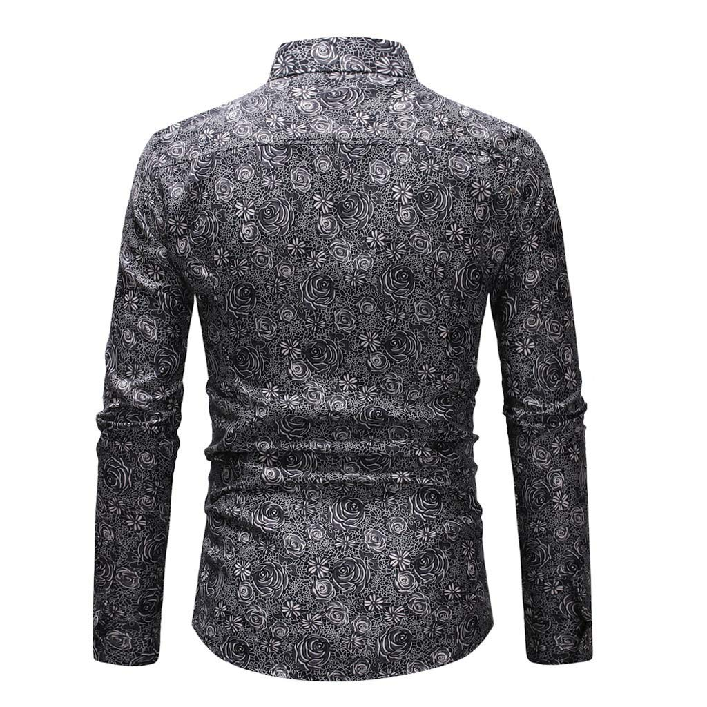 da8a1416e Vintage Long Sleeve Hawaiian Shirts   Top Mode Depot