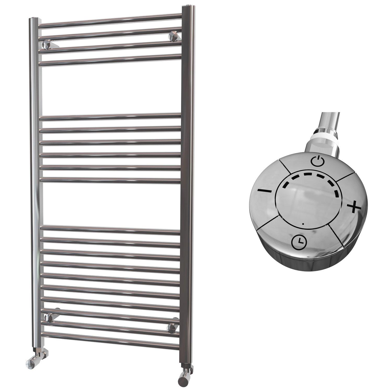 HB Essentials Zena chrom gerade Leiter Handtuchhalter, beheizbar ...