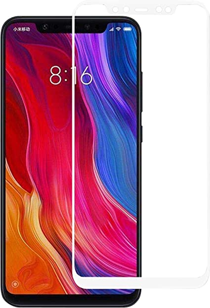 TBOC Protector Pantalla 5D para Xiaomi Mi 8: Amazon.es: Electrónica