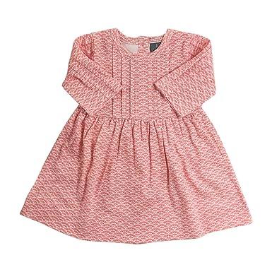 08a22d03f8e Amazon.com: Kate Quinn Organics Baby Girls' Ruby Dress, 8Y (Pink ...