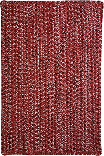 "product image for Capel Rugs Team Spirit Area Rug, 7' 6"" x 7' 6"", Red Black"