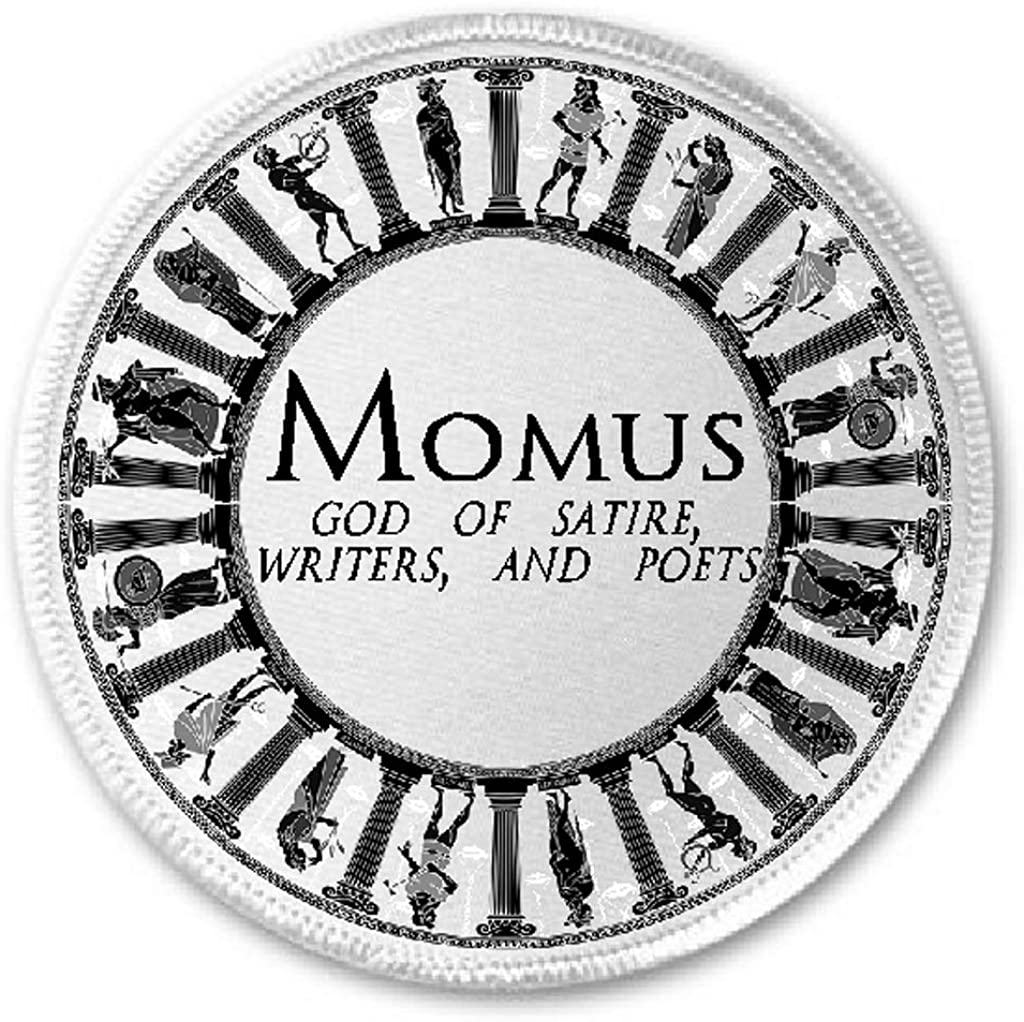 Amazon Com Momus God Of Satire Writers And Poets 3 Sew Iron On