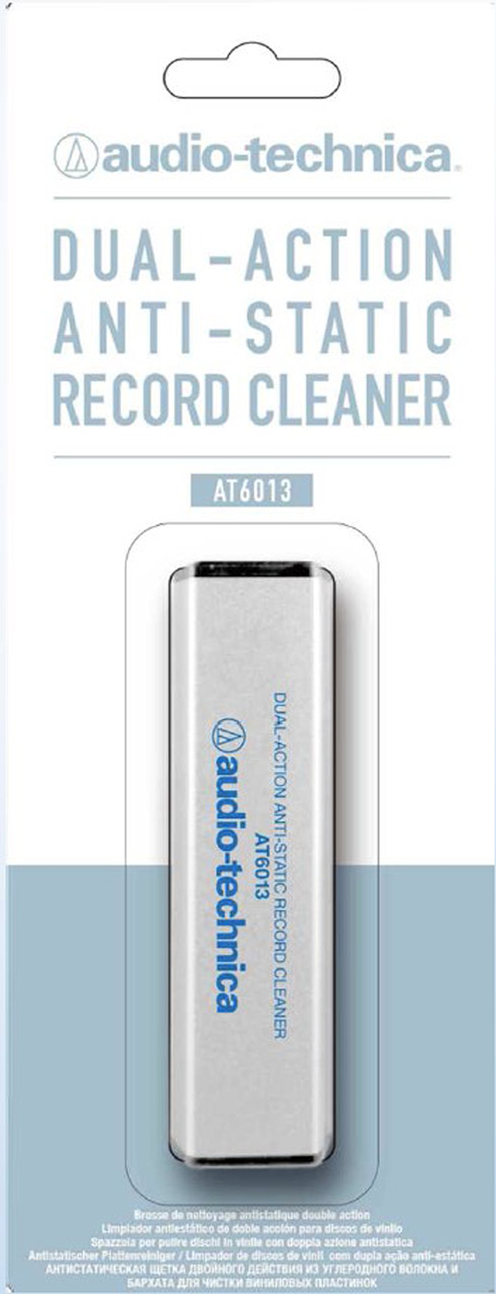 Audio-Technica AT6013 Dual-Action Anti-Static Record Cleaner
