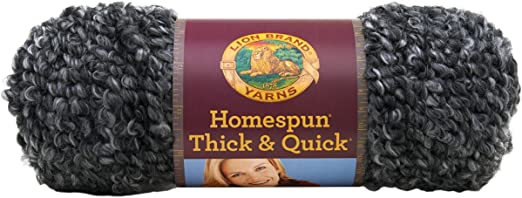 Pack of 3 skeins Lion Brand Yarn 792-237 Homespun Thick /& Quick,LakesideStripes