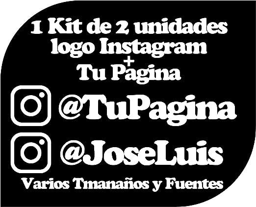Pegatina Vinilo Personalizado con Perfil Pagina de Instagram ...