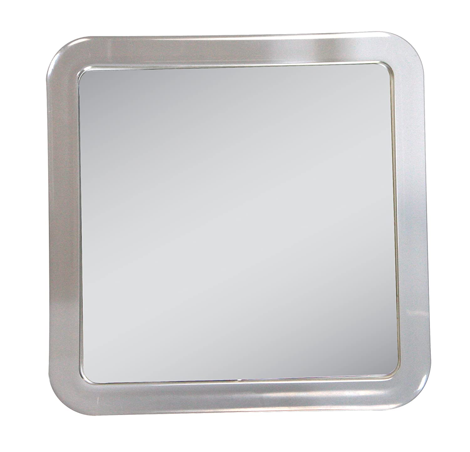 Amazon.com : Zadro Z'swivel Power Suction Cup Mirror, White & Chrome :  Personal Makeup Mirrors : Beauty