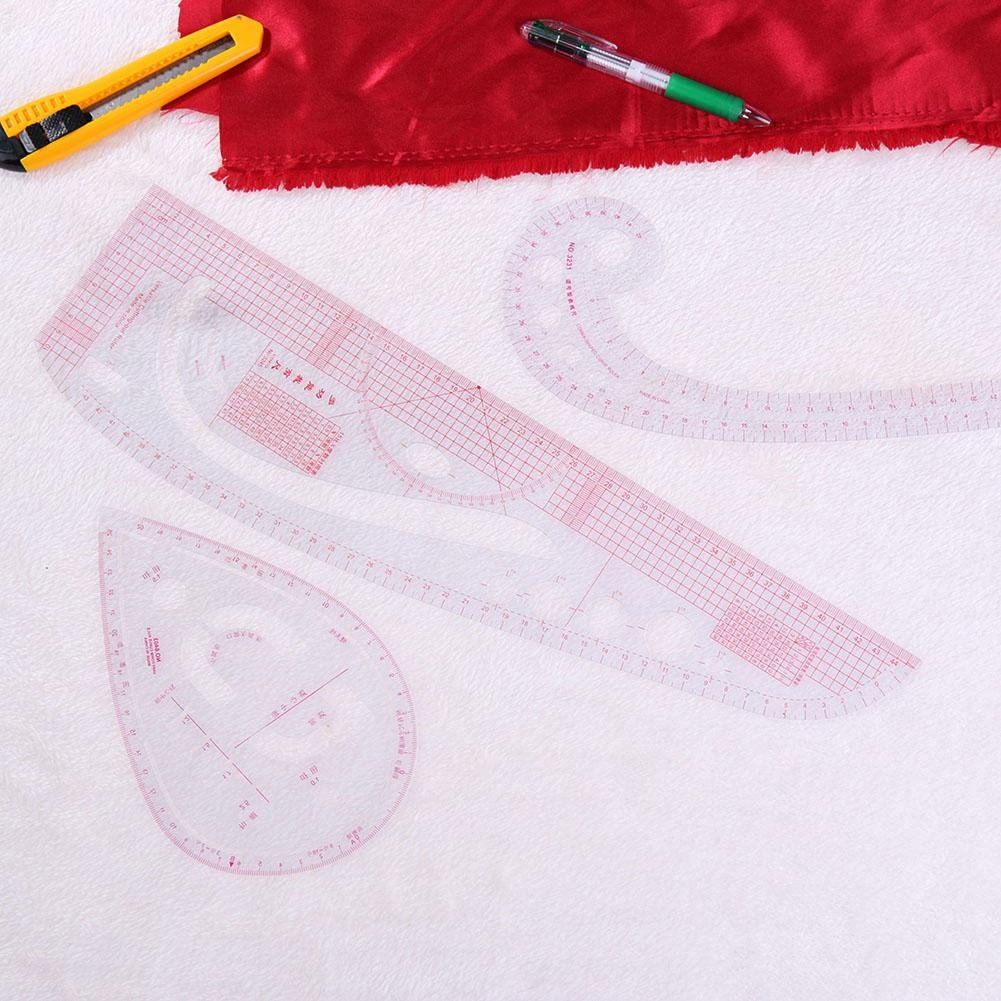 Matefield 6pcs set DIY multifunci/ón acolchar costura costura patchwork dibujo reglas