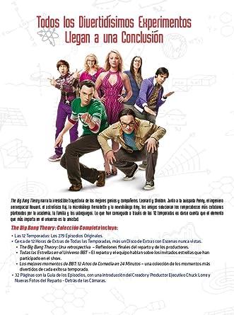 The Big Bang Theory - Colección Completa Temporada 1-12 DVD: Amazon.es: Johnny Galecki, Jim Parsons, Kaley Cuoco, Simon Helberg, Kunal Nayyar, Melissa Rauch, Mayim Bialik, Sara Gilbert, Kevin Sussman, John Ross Bowie,
