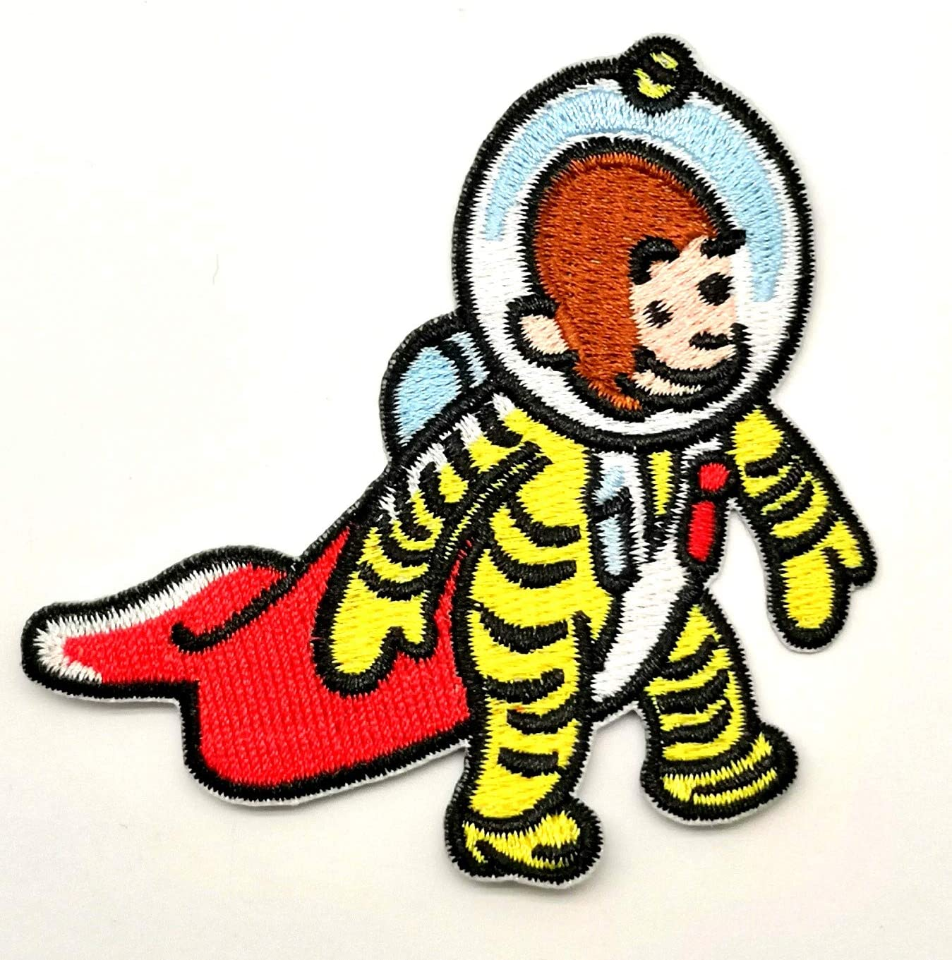 rocket cloth badges diy embroidered iron//sewing on patches for clothes H Js