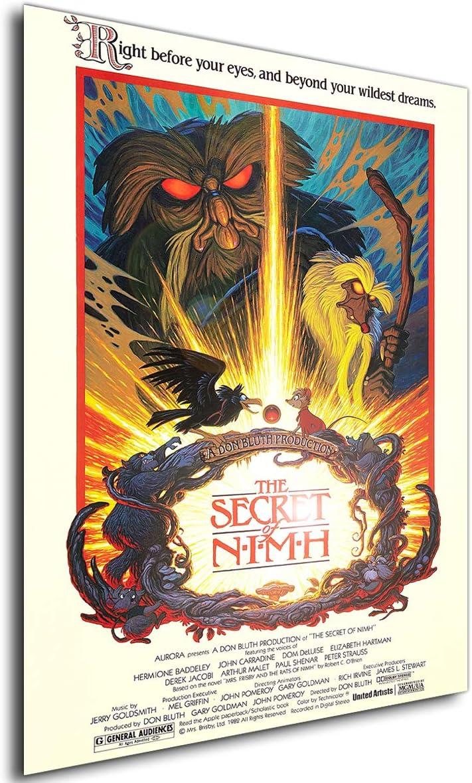 42x30 cm Locandina Brisby e il segreto di NIMH Formato Poster Anime