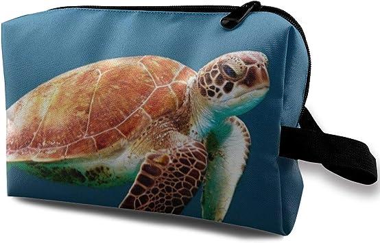 Sea Turtle Mad At You1 Estuche para lápices Estuche para lápices Bolso de Maquillaje cosmético: Amazon.es: Equipaje