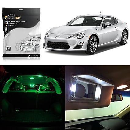 Amazon Com Partsam 2013 2016 Scion Frs Green Interior Led Light