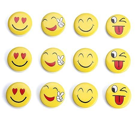 Imanes de nevera imanes para nevera, Emoji: Amazon.es: Hogar