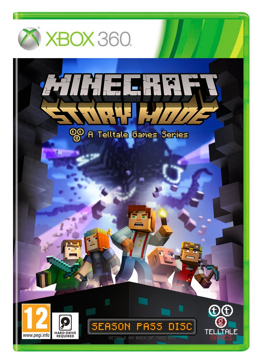Minecraft: Story Mode - A Telltale Game Series - Season Disc (Xbox