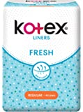 Kotex Fresh Regular Unscented Feminine Care Liners, 40ct